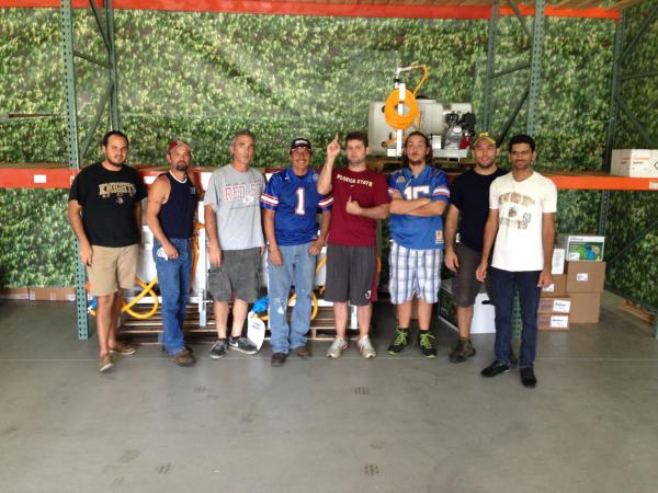 Sprayer Depot College Day