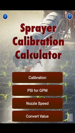 Sprayer Calibration Calculator