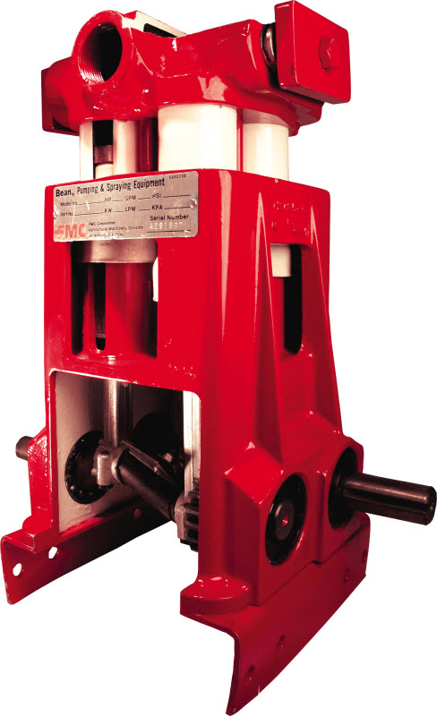 john Bean Piston pump