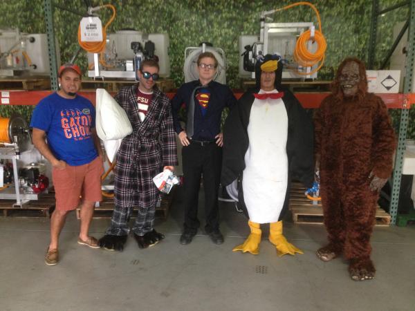 Sprayer Depot costumes