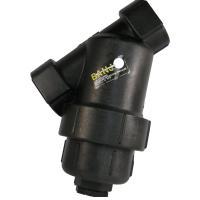 Y strainer for sprayer equipment