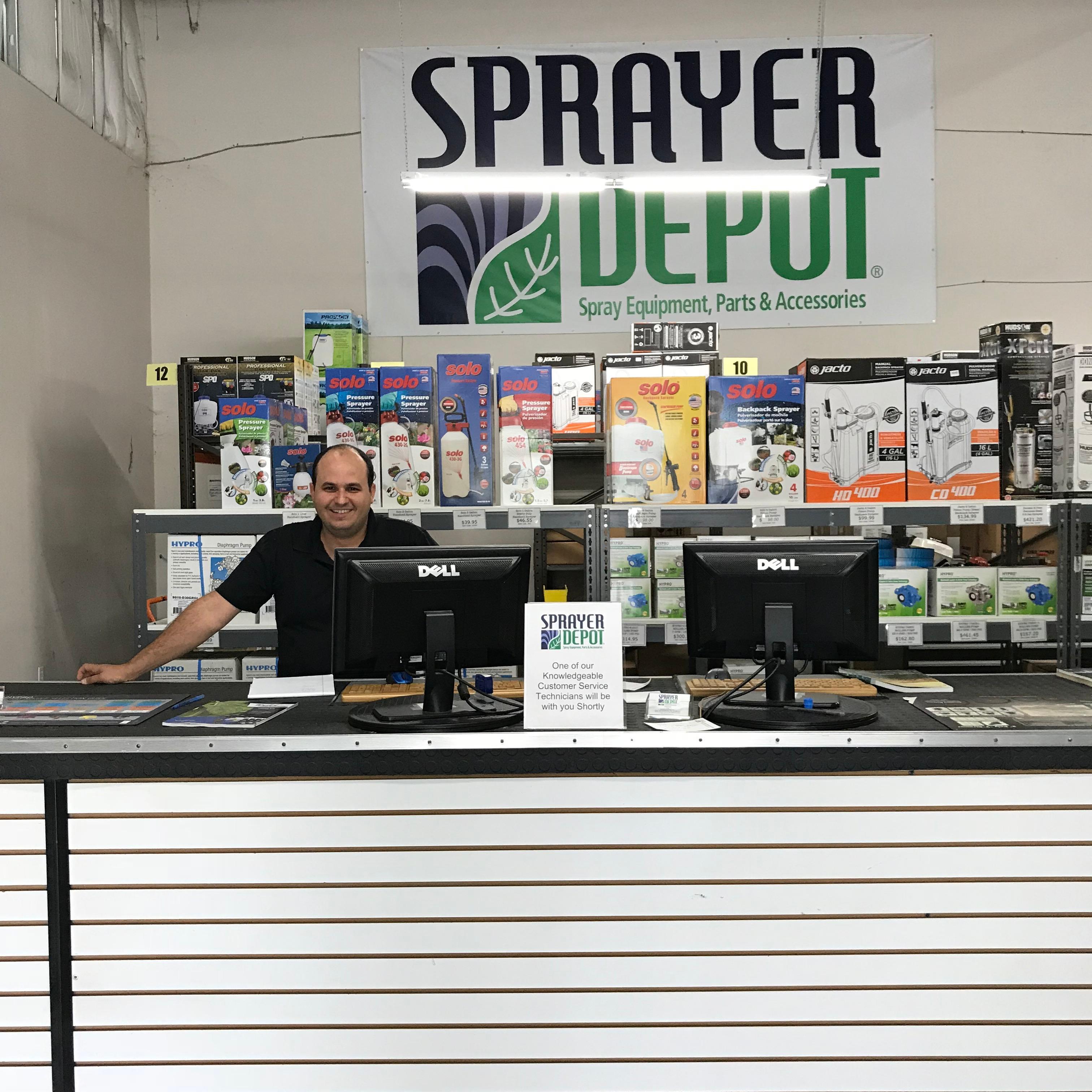 Sprayer Depot Orlando Showroom