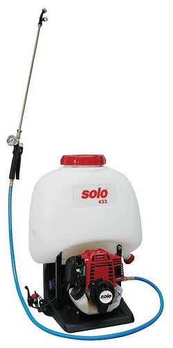 Backpack Sprayer with Motor