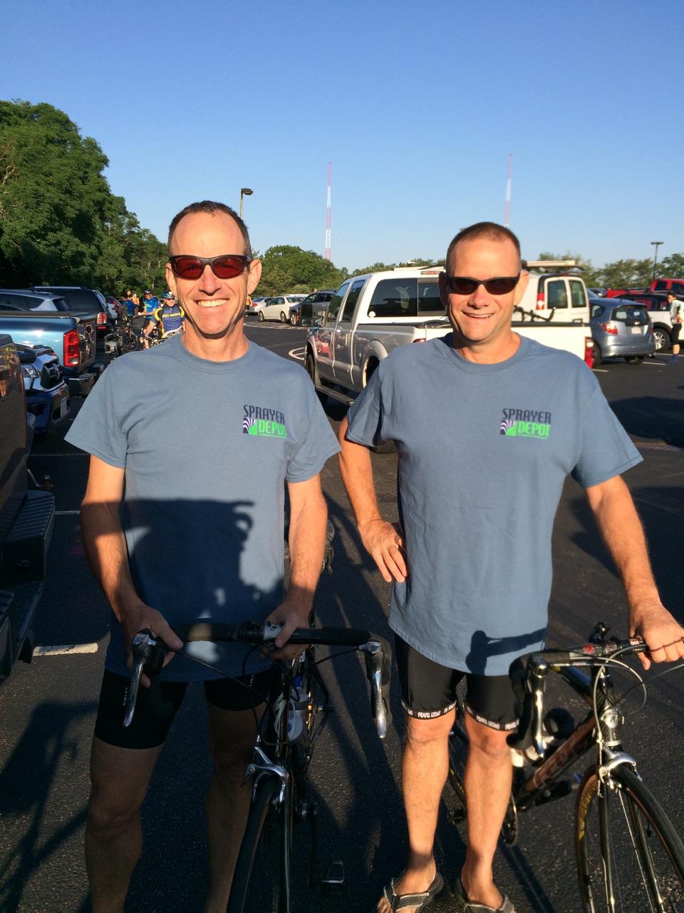 Sprayer Depot team at Bike MS Cape Cod Getaway 2016.jpg