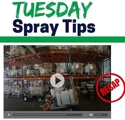 The sprayer depot blog diaphragm pump tuesday spray tips video recap ccuart Gallery