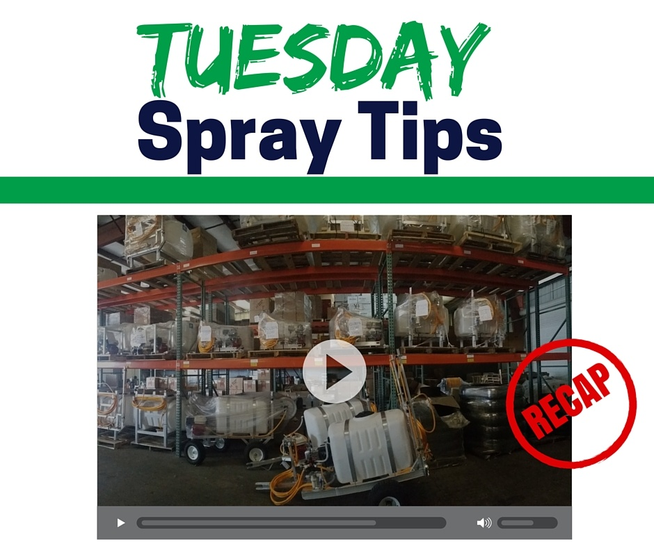The sprayer depot blog diaphragm pump sprayer depot recently introduced a new video series called tuesday spray tips specifically designed to share spray equipment information in 30 seconds ccuart Images